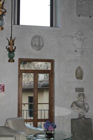 Hotel Villa Casagrande : interior