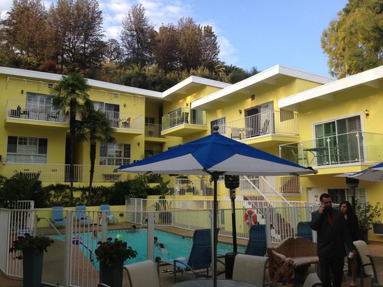 Magic Castle Hotel : Pool and rooms