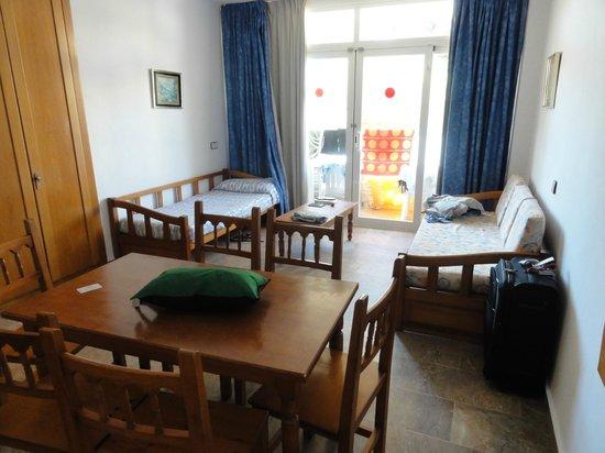 Hotel Ayron Park: Woonkamer
