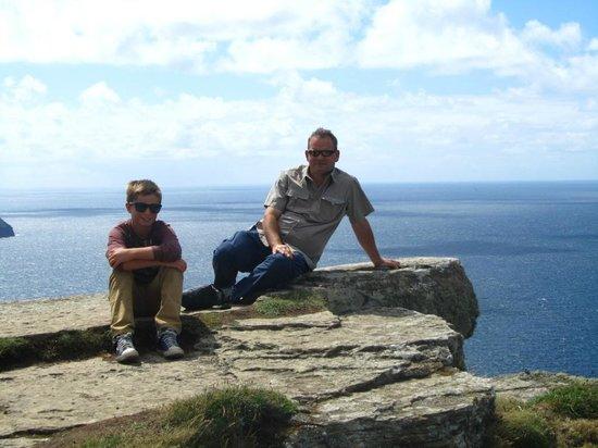 Nagle's Doolin Camping & Caravan Park: Us at the Cliffs of Moher