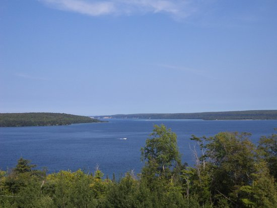 Holiday Inn Express Munising -  Lakeview: the view from our room
