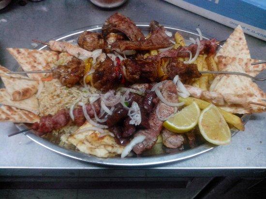 Rakomelo Protaras : Χαρά του κρεατοφαγά / The pleasure of meat-eater!!!