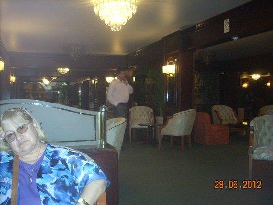 Hotel Excelsior Asuncion: el lugar ideal para tomar el cafecito,despues de almorzar