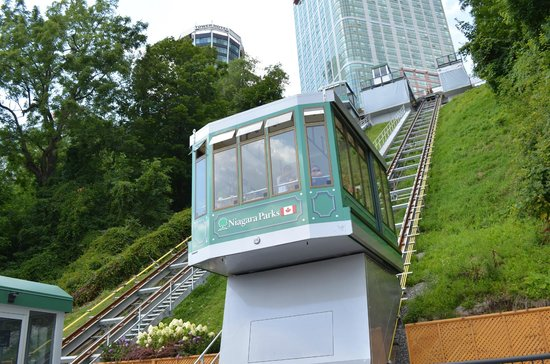 Niagara Falls, Canada: The new Falls Incline Railway