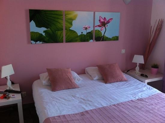 Hotel la Rotonde : notre chambre.