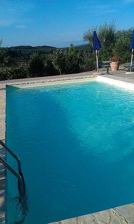 Villa Cristina: piscina