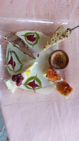 Hotel Restaurant Le Saint Clement : Dessert!