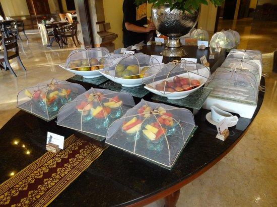 Ayodya Resort Bali: クラブラウンジ アフタヌーンティータイム