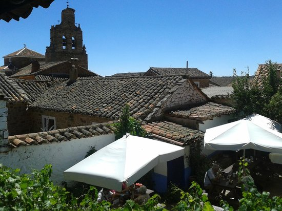 Castrillo de los Polvazares: roof tops view