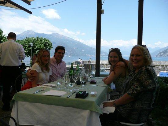 Ristorante La Punta : Never mind the view; wait until you taste the food.