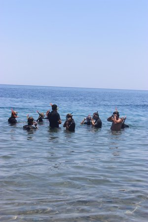 Dahab Safari Day Tours : We are going to watch fishes