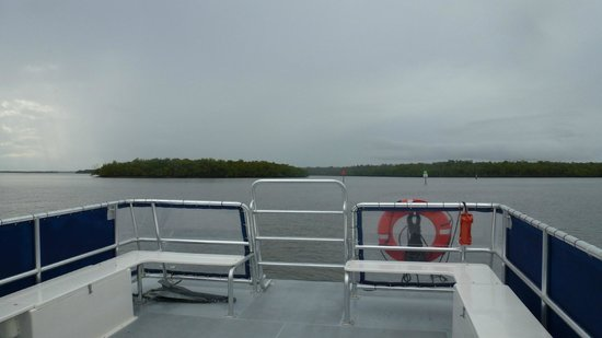 Everglades National Park Boat Tours: Boat view 1