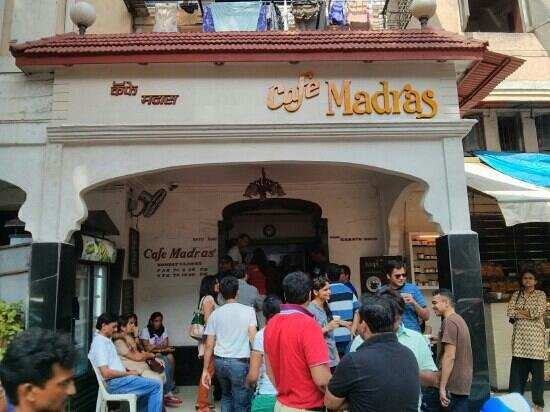Cafe Madras: the facade