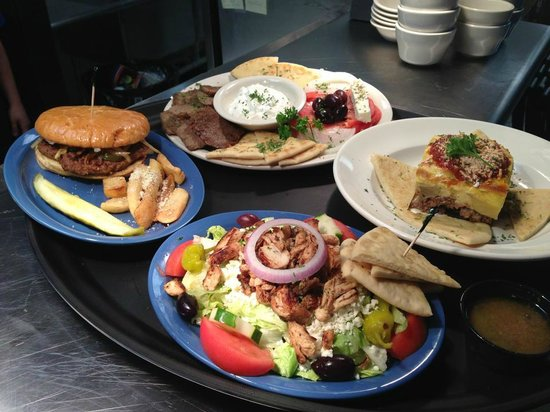 Greektown Grille: Delicious Greek Food