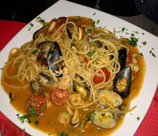 Al Biondo: Spaghetti allo scoglio