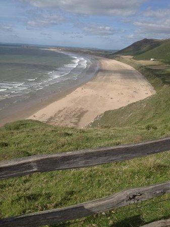 The Old Manse B & B: rhosilli beach