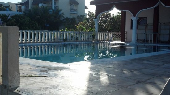 Ecohotel Flamingo Playa: area de alberca