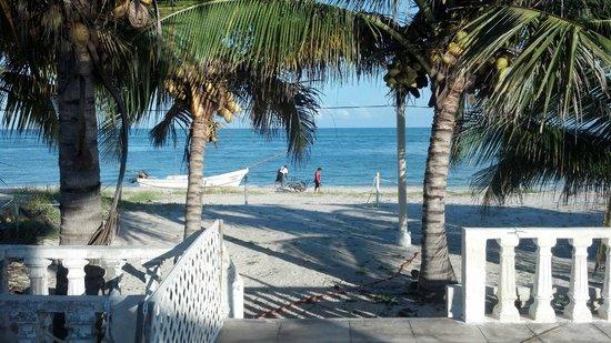 Ecohotel Flamingo Playa: vista de la playa