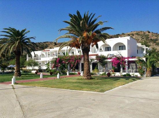 Mediterranean Hotel : Hotellet, alla rum har havsutsikt