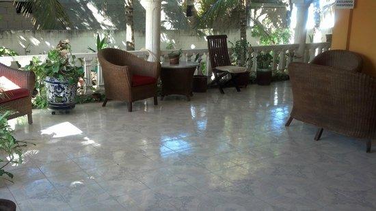 Ecohotel Flamingo Playa: vestibulo