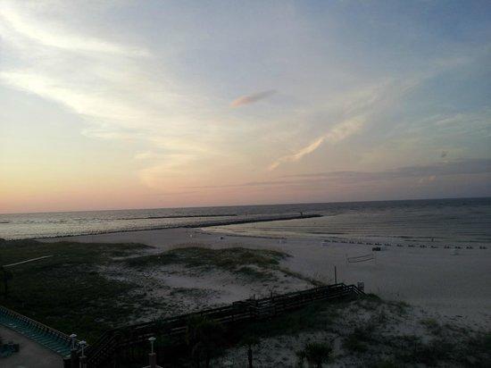 Perdido Beach Resort: sunrise