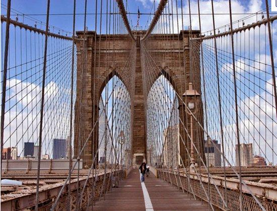 Kings County Pizza : Brooklyn Bridge