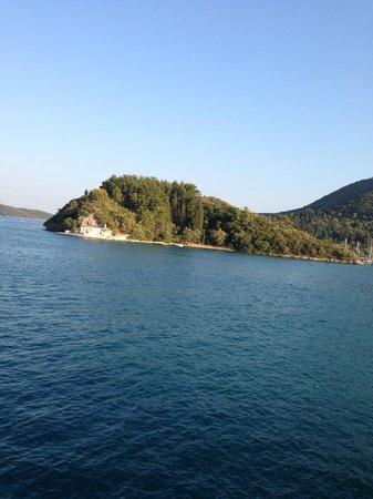 The legendary Greek island of Skorpios...