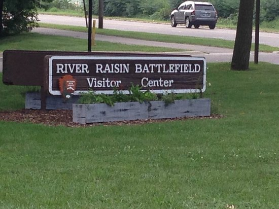 River Raisin National Battlefield Park: At the entrance
