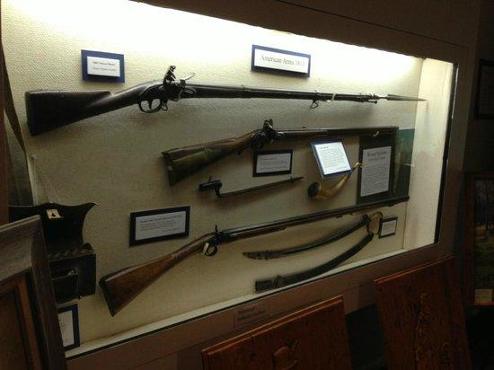 River Raisin National Battlefield Park: Rifles and swords