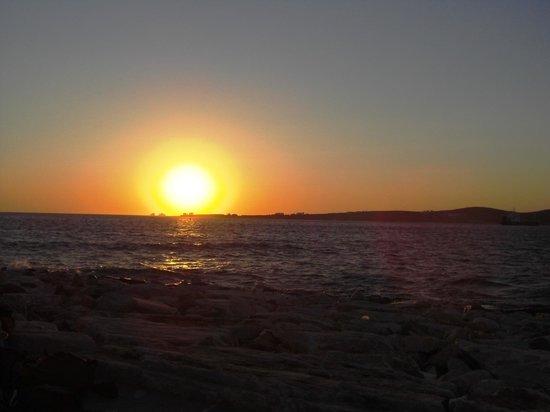Delfini: Sunset in Paros