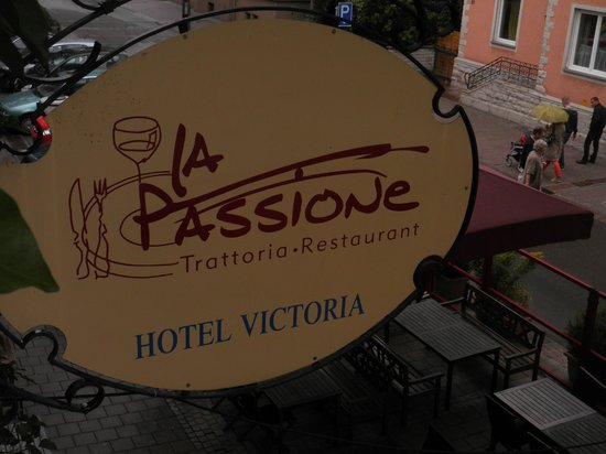 Hotel Victoria: Aussicht vom Zimmer