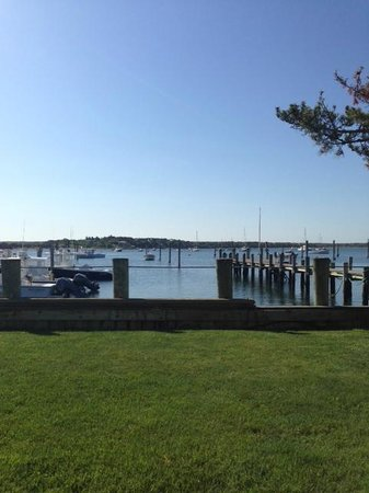 Harborside Inn: View from Patio
