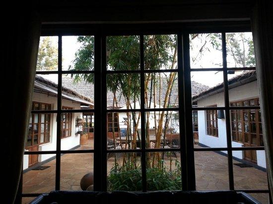 The Plantation Lodge & Safaris: hall and bar