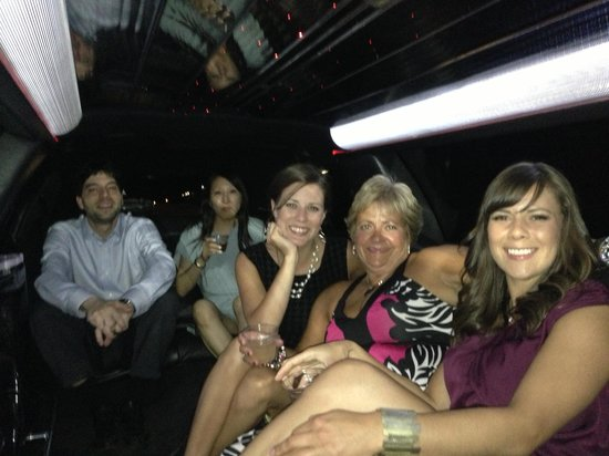 Meet and greet in the limo picture of take me out nyc new york take me out nyc meet and greet in the limo m4hsunfo