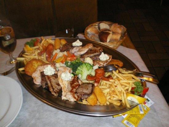 Restaurant Steinbock: Piatto della casa