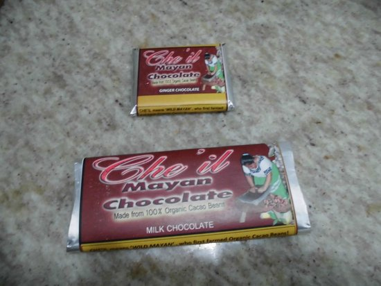 Che'il Mayan Chocolate, produced by the Maya Center Mayan Museum