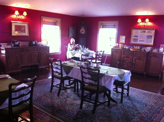 Rhins of Galloway: Breakfast room, quality furnishings, spotless!