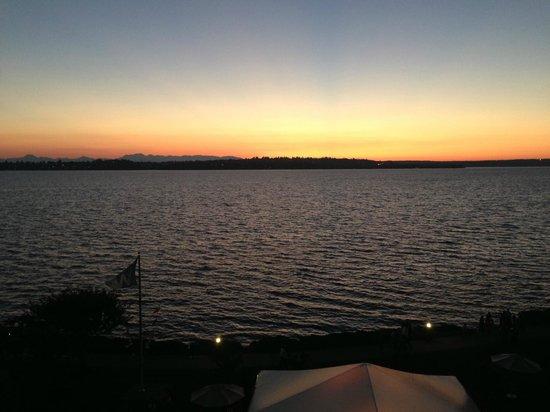 Woodmark Hotel & Still Spa : Sunset