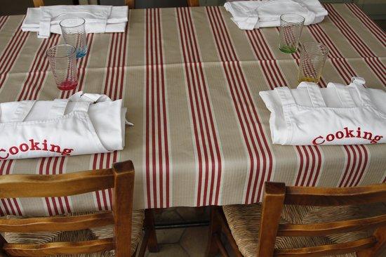 Cooking in Provence : pour nous à l'arrivée