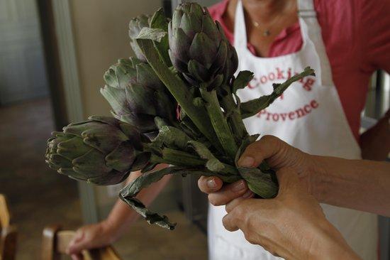 Cooking in Provence : pour l'entrée