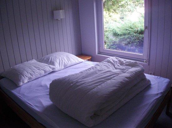 Domaine De La Heronniere : chambre lit double