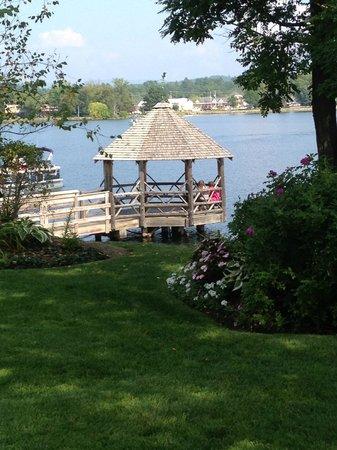 Church Landing at Mill Falls: Lakeside gazebo