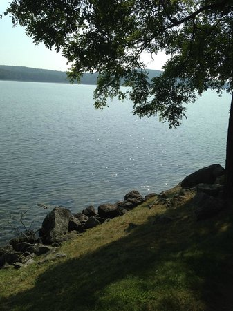 Church Landing at Mill Falls: Lake view from the grounds