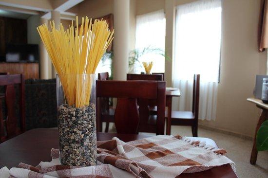 Hotel Las Margaritas: Area del Lobby