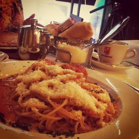 Ristorante Ai Leoncini San Marco: spaghetti mamma mia