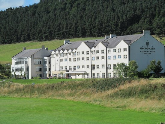 Macdonald Cardrona Hotel, Golf & Spa: Hotel from Course
