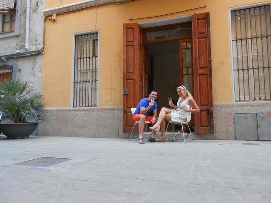 Barceloneta Suites: De openslaande deuren