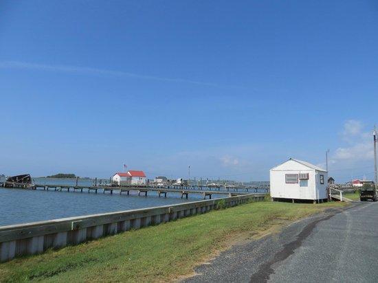 Smith Island Inn : Smith Island crab docks
