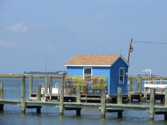 Smith Island Inn: Smith Island docks