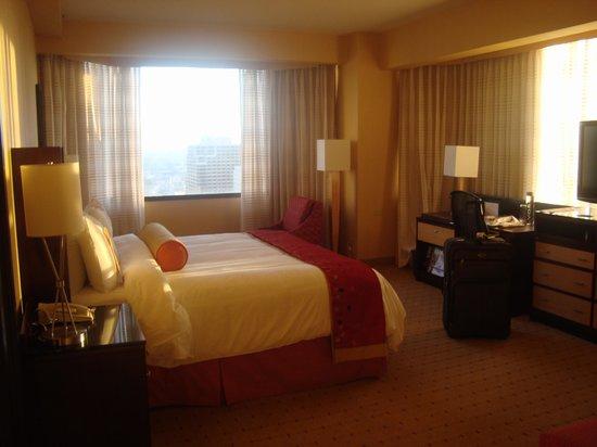 San Francisco Marriott Union Square : my room...12th floor